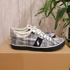 Polo Ralph Lauren checkered sneakers